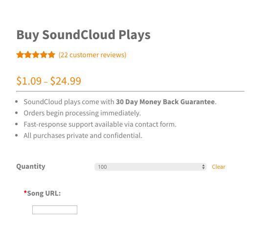 buy soundcloud plays cheap new