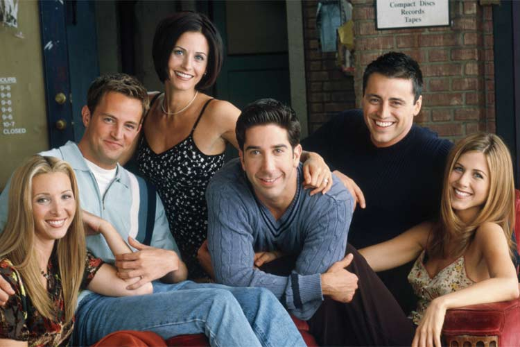 Recent Poll Reveals The UK's Favourite 'FRIENDS' Character